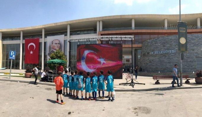 Akhisar'da Türkiye Kupası heyecanı