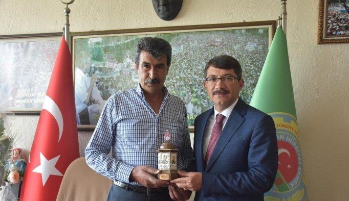 Başkan Çelik'ten tarımda işbirliği mesajı