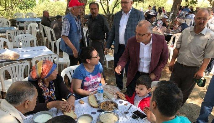 Başkan Kayda'dan mahalle ziyaret turu