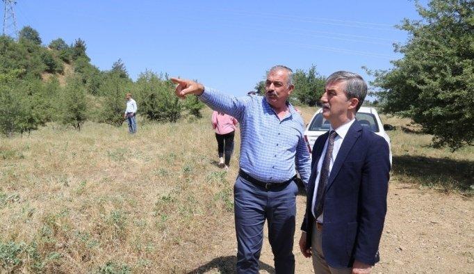 Başkan Şirin'in söz verdiği projede geri sayım başladı