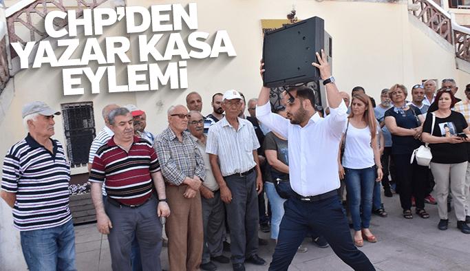 CHP'den yazar kasa eylemi