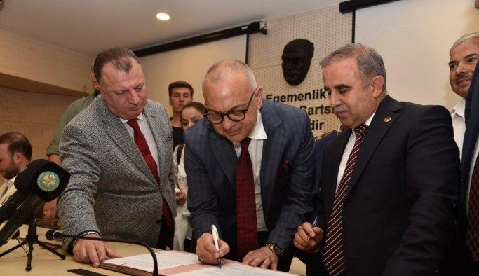 Gördes'e dev spor tesisi için imzalar atıldı