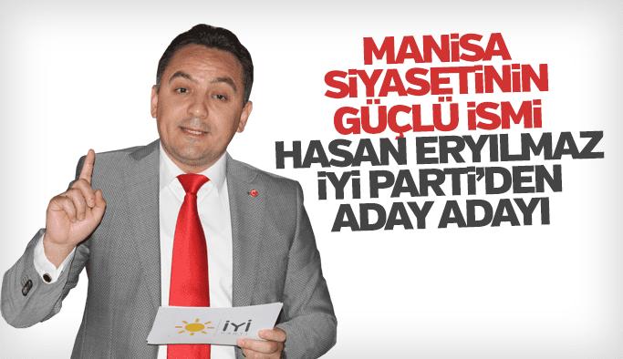 Hasan Eryılmaz aday adaylığını duyurdu