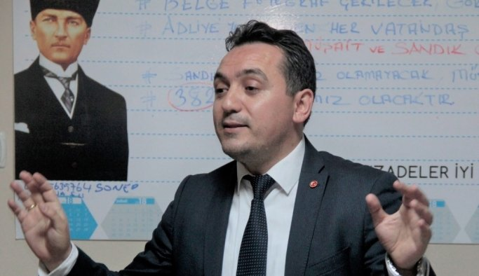 Hasan Eryılmaz İYİ Parti'den aday