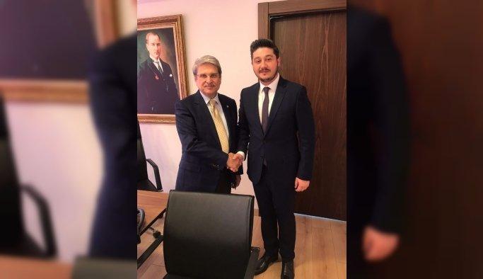 MAGİAD Başkanı Ömer Geriter İYİ Parti'den aday adayı oldu
