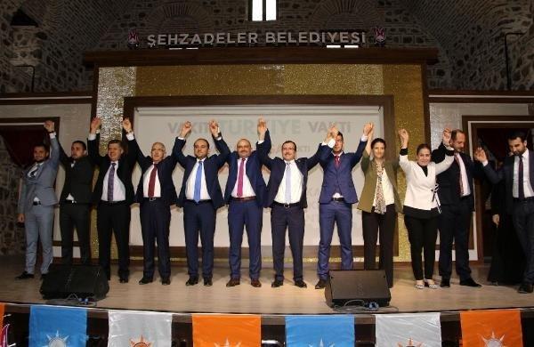 Manisa AK Parti milletvekili adaylarını tanıttı