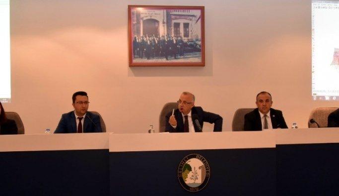 Salihli Belediye meclisi Mayıs ayı toplantısını yaptı