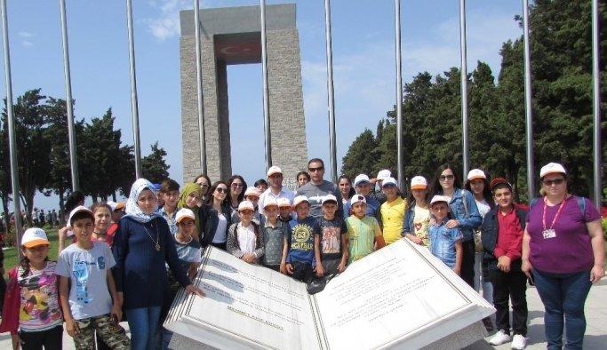 Saruhanlı Belediyesinden öğrencilere Çanakkale gezisi