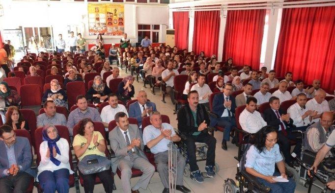 Saruhanlı'da Engelliler Haftası kutlandı