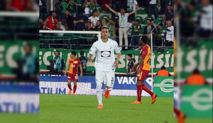 Spor Toto Süper Lig: T. M. Akhisarspor: 1 - Galatasaray: 2 (Maç sonucu)