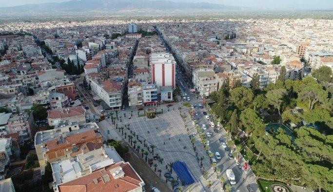 Turgutlu caddelerine 2 milyonluk yatırım