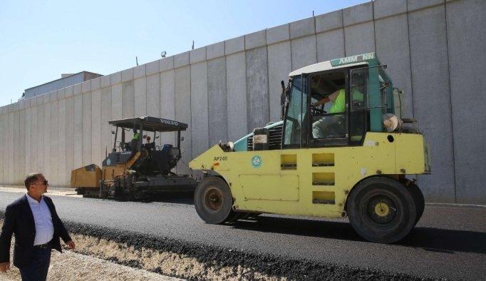 Turgutlu Kavşak Projesi'nde asfalt çalışmaları başladı