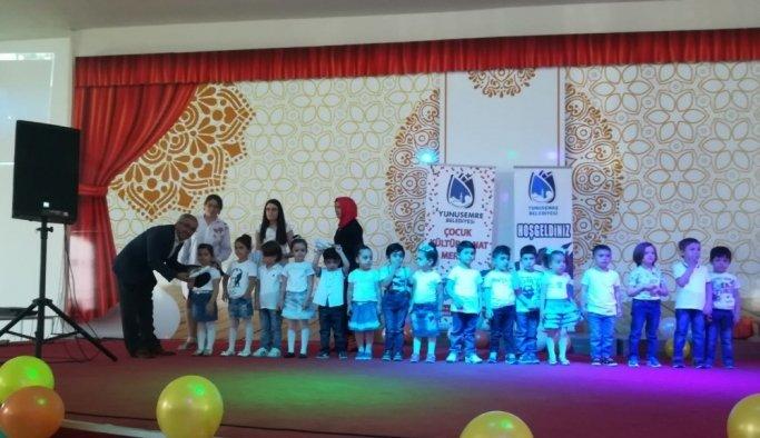 Yunusemre Çocuk Kültür Sanat Merkezi'nde yıl sonu programı
