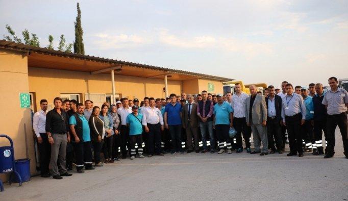 Yunusemre'den personele 1 Mayıs kahvaltısı