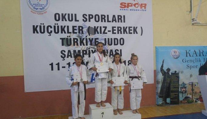 Yunusemreli judocu Türkiye Şampiyonu oldu