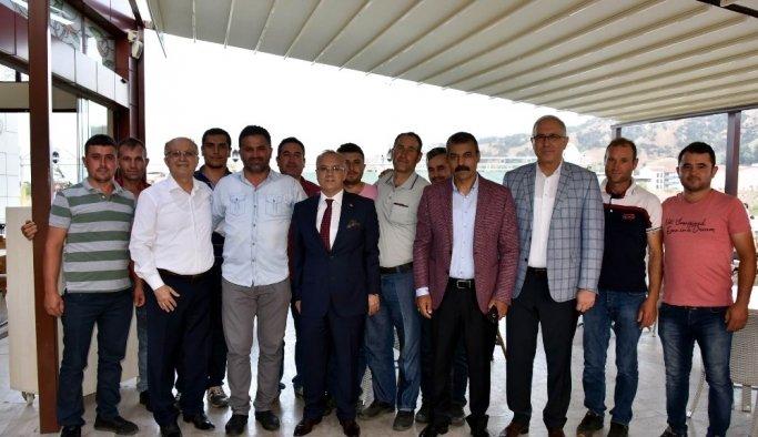Başkan Kayda, belediye personeli ile iftar yaptı