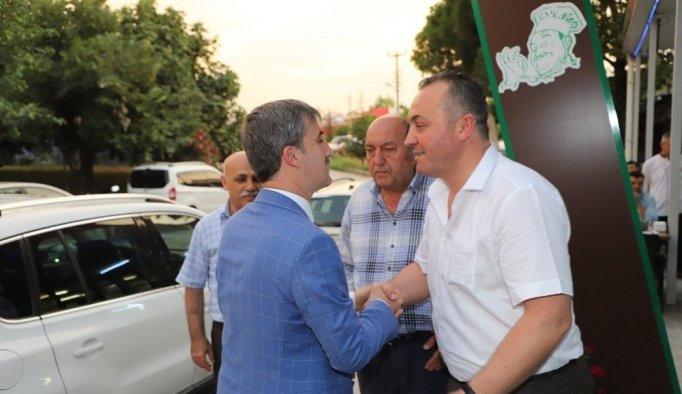 Başkan Şirin kahveci esnafıyla iftarda buluştu