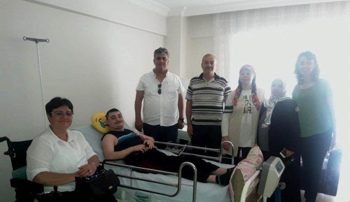 Engelli vatandaşın yaşamı Yunusemre Belediyesi'yle kolaylaşacak
