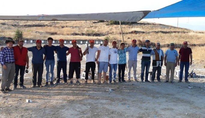 Kırkağaç'ta atıcılık yarışması
