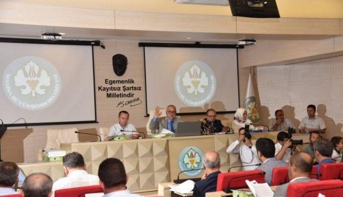 Manisa Büyükşehir Belediye Meclisi Toplantısı yapıldı