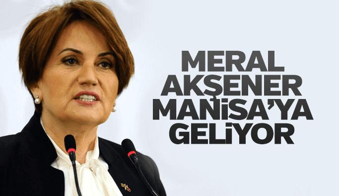 Meral Akşener 10 Haziran'da Manisa'ya geliyor