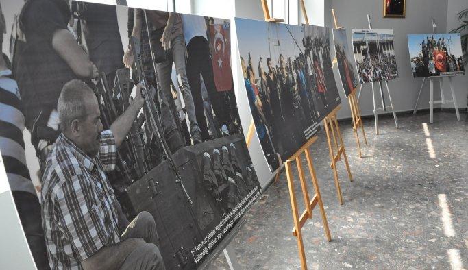 İHA'dan Manisa'da 15 Temmuz'u unutturmayan fotoğraf sergisi