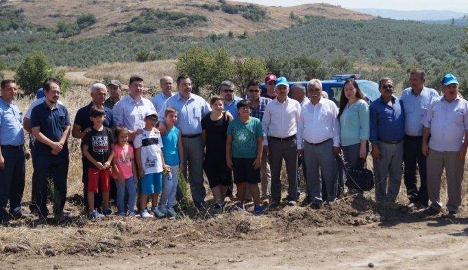 Kırkağaç'ta '15 Temmuz Şehitleri Hatıra Ormanı' oluşturuldu