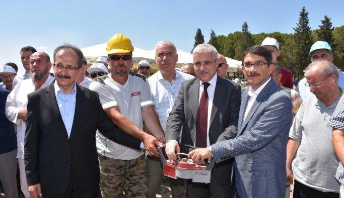 Selimşahlar 4-6 yaş Kur'an Kursu binasının temeli atıldı