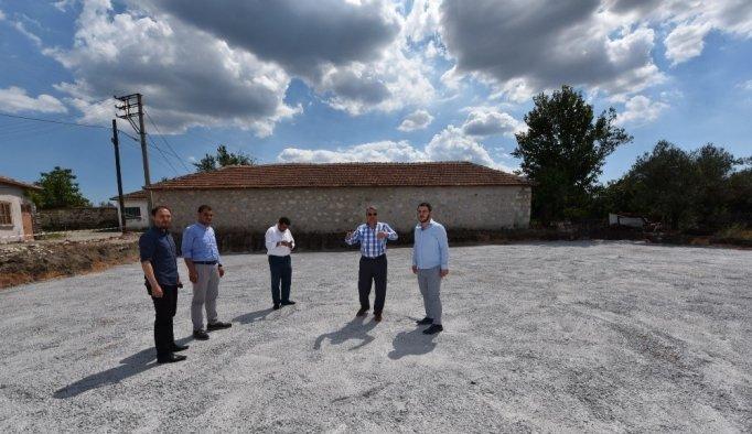 Yunusemre Belediyesinden Osmancalı'ya yeni düğün salonu