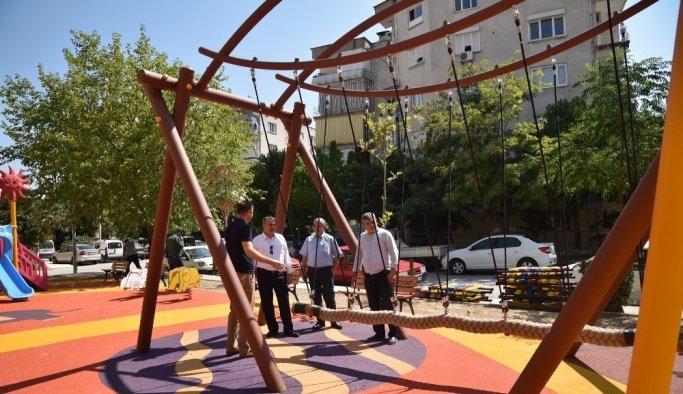 Yunusemre'den Merkez Efendi Mahallesi'ne yeni park