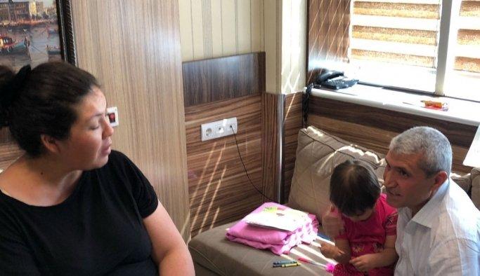 Aile ve Sosyal Politikalardan doğum yapan şehit eşine ziyaret