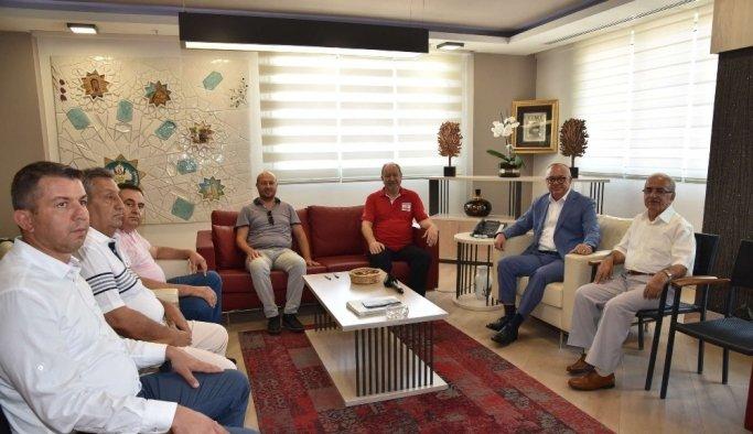 Başkan Ergün'den Türk Kızılayı'nın kurban bağışına destek