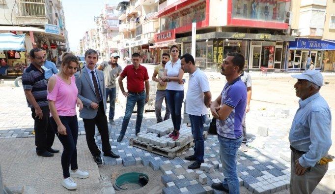 Başkan Şirin'den Cumhuriyet Caddesi sakinlerine bayram müjdesi