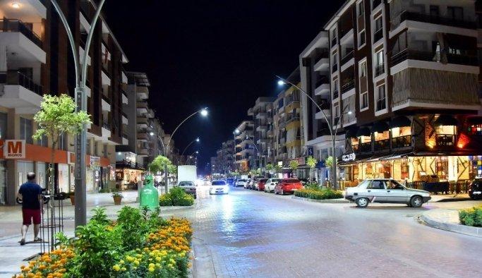Salihli'de prestij caddesi bitmek üzere