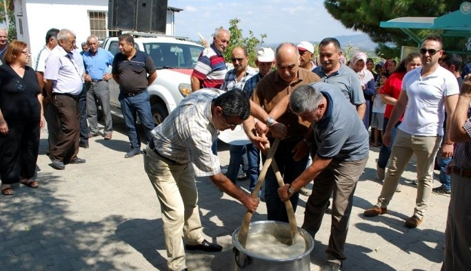 500 yıllık keşkek geleneği Manisa'da yaşatılıyor