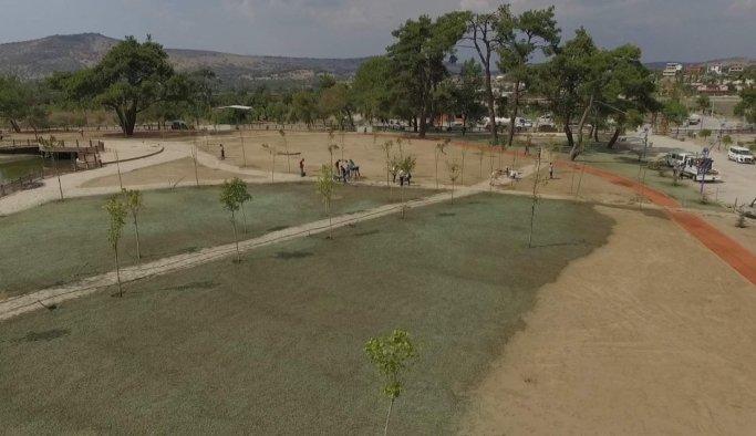 Yunusemre'den sulu tohumlama uygulaması