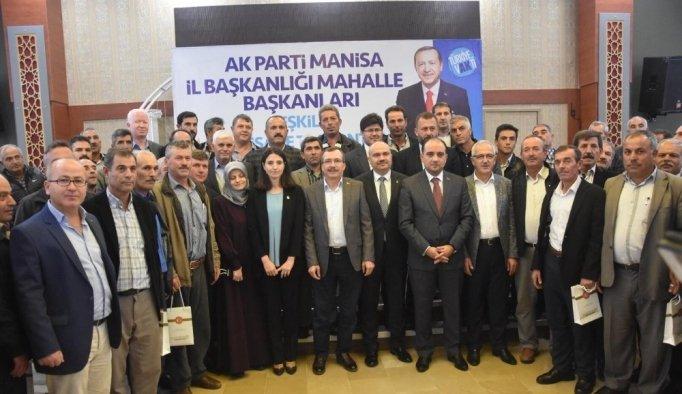 AK Parti Manisa'daki yol haritasını anlattı