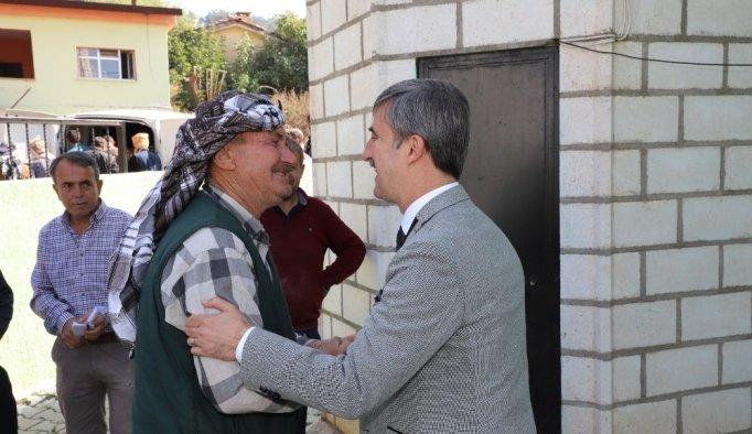 """Başkan Şirin: """"Turgutlu için gönülden çalışıyoruz"""""""