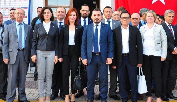 İYİ Parti İl Başkanı Eryılmaz, 29 Ekim'i kutladı