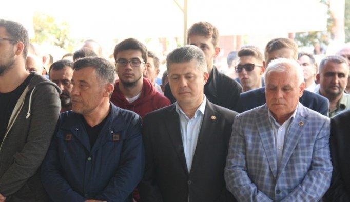 Milletvekili Özkan'ın acı günü
