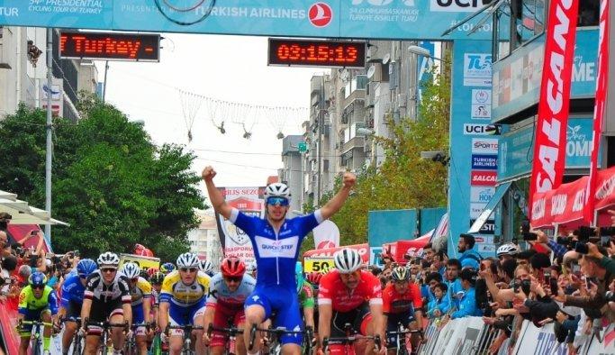 Selçuk-Manisa etabının 1.'si Alvaro Jose oldu