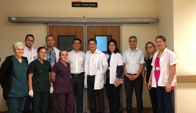 Soma Devlet Hastanesi'nde yeni yoğun bakım hizmeti