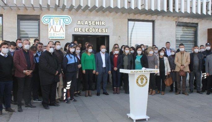 Belediye çalışanlarından lösemili çocuklara maskeli destek