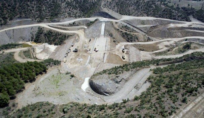 Kılavuzlar Barajı'nın yüzde 88'i tamamlandı