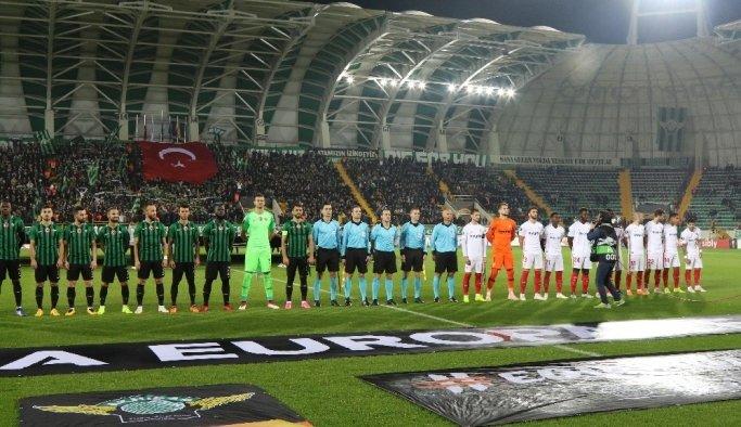 UEFA Avrupa Ligi: Akhisarspor: 0 - Sevilla 1 (Maç devam ediyor)
