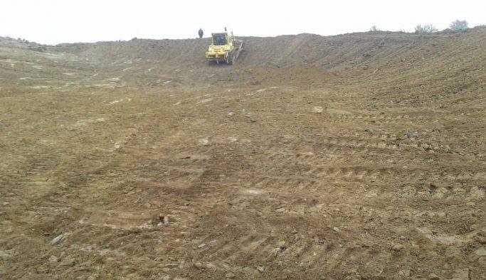 Manisa'da göletler temizleniyor