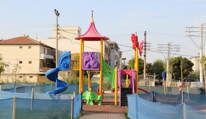 Yunusemre'den ilçeye 60 yeni park