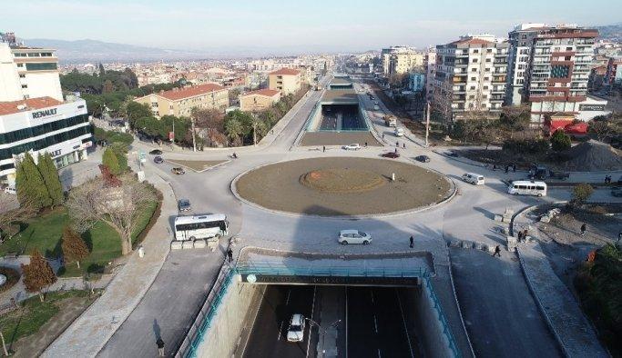 Alparslan Türkeş Kavşağı drone ile görüntülendi