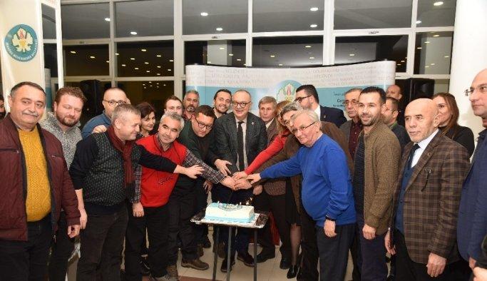 Başkan Ergün, gazetecilerle bir araya geldi