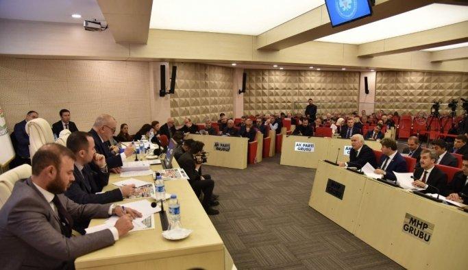 Manisa Büyükşehir Belediyesi'nde yılın ilk meclis toplantısı